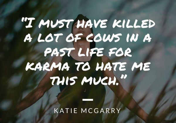 karma short quotes sad